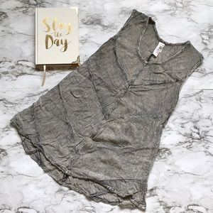 India Boutique Gray Tank top